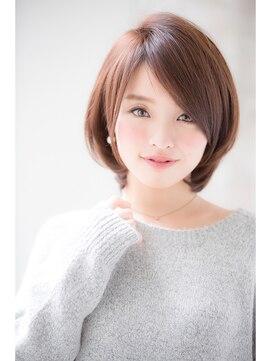 ジョエミバイアンアミ(joemi by Un ami)【joemi】大人タンバルモリセミウェットボブグレージュ(小倉太郎