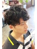ディスパッチヘアー 甲子園店(DISPATCH HAIR)耳上ツーブロック マッシュショート