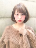 ノット(Knot)【knot阿部展大】イルミナカラー×小顔丸みショートボブ
