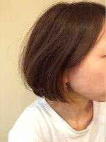 モイヘアーデザイン(moi hair design)ちらっとワンポイントカラー