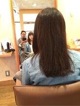 毛髪診断をさせて頂きます。