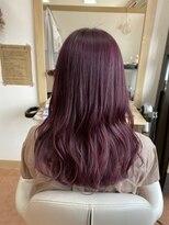 アドゥーヘアー(A do hair)pink × purple