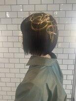 成人式hair set