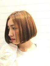 ヘアー ランジェ 渋谷店(hair LANGE)アゴラインのベーシックボブ