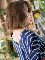 ■透け感シースルーカラールーズヘア12-33上尾30代40代50代