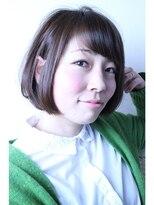 ロベック モトヤマ(Lobec MOTOYAMA)透き通るヘアカラーと艶を見せるカット