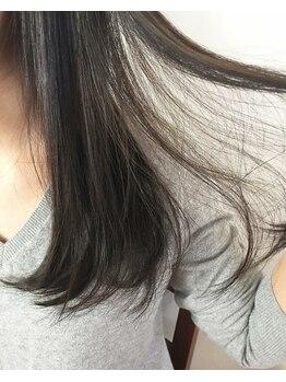 アームズ(ARMS.)の写真/【話題のTOKIOトリートメント使用】髪質改善に効果的☆低刺激でもしっかり洗い上げる!!髪に優しいのも特徴!