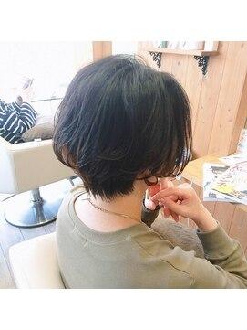 コネクトヘア(CONEKT hair)大人かわいいハンサムショート☆