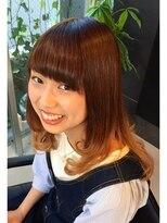 ティースタイル(hair salon t-style)グラデーションカラー