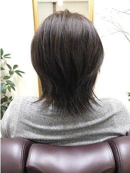 アウラ(aula)の写真/【東加古川駅徒歩2分】あなたの大切な髪と頭皮のことを考えたオーガニック薬剤で、傷み知らずのツヤ髪に♪