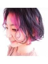 フロントポイントカラー×ピンク by塩入