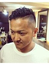 ヘアメイク オリーブツー(Hair Make OLIVE2)ツーブロック ショート パーマ Olive2