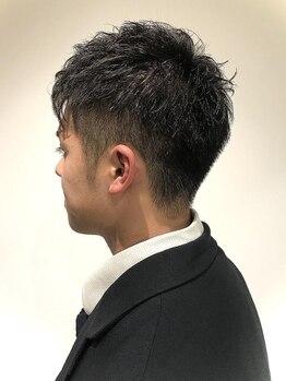 クツロギ(kuturogi)の写真/【王子/22時まで営業】男性の身嗜みもkuturogiで!技術.仕上がり.全て兼ね揃えたMENUで清潔感UP&好印象に!