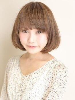TBK 金沢文庫店の写真/【カット+カラー¥4800】頭皮にも髪にも優しいこだわりのカラー剤使用◎トレンドカラーもお任せ下さい!
