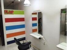 フラップ ヘアー ラウンジ(FLAP HAIR LOUNGE)の雰囲気(2席の小さな美容室です。)