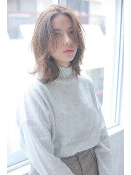 アリーズヘアー 青山(allys hair)ラフな抜け感が可愛い☆ナチュラルウェーブ 【草場】