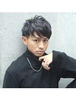 フェス カットアンドカラーズ(FESS cut&colors)『FESS 鶴丸』【シルバーグレージュ×束感マッシュヘア】
