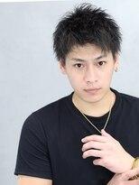 リップス 渋谷(LIPPS)軽さ溢れる黒髪刈り上げスマートショート【エアクロムショート】
