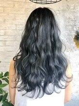 エイミー(aimy)濃厚★ブルーグレー『暗髪カラー』
