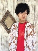 ACE LA 黒髪×パーマスタイル