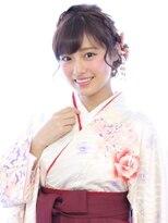ヘアリゾート バレンタイン(hair+resort valentine)☆卒業式ヘアアレンジ☆編み込みアップスタイル