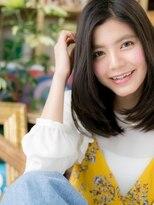 ■bliss川口10■重軽リッチ☆大人かわいい黒髪ワンカール