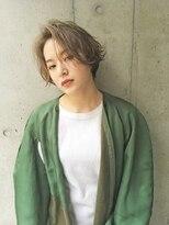 【ZENKO吉祥寺Chere】前髪長めがオシャレ度アップなショートボブ