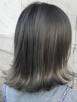 リンドヘアー アンド アイラッシュ(LINDO)の写真/【NEWOPEN★】気になるクセ・うねりを髪質から改善!自然なナチュラルストレートはツヤも手触りも上質◎