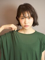 ベックヘアサロン 広尾店(BEKKU hair salon)「BEKKU」古川タカヨシ大人かっこいいゆるウェーブショートボブ