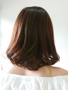 カミユウ 髪ゆう(KAMI YOU)の写真/オーガニックカラーご用意◎繰り返してもダメージレスなグレイカラーをご提案!色持ちもGOOD♪