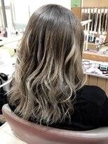 アーティカルヘア(ARTICAL HAIR)アッシュグレーカラー《グラデーション》