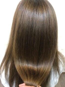 フランフランココ(fran fran..coco)の写真/【森町近隣/髪質改善サロン】縮毛矯正に特化◎オリジナル薬剤で、最適な施術を。圧倒的クオリティをご提供
