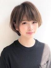 アグ ヘアー レオン 紫原店(Agu hair leon)《Agu hair》柔らか綺麗めひし形ショート