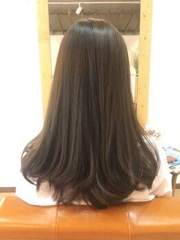 リーフ(reaf)の写真/年齢を感じてしまう白髪をしっかりカバー!ずっと若々しく綺麗でいたい大人女性の頼れるサロンです☆