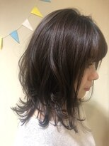 モイヘアーデザイン(moi hair design)ふんわりくびれヘア