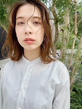 リッカ ミューク たまプラーザ(lycka mjuk)の写真/カラーによる髪や頭皮のダメージが気になる方へ*植物成分配合のオーガニックで髪に優しくカラーを楽しめる