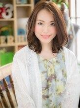 カバーヘア ブリス 川口東口そごう店(bliss)*+COVER HAIR+*…アレンジきく♪くびれミディa!