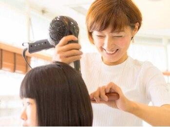 ナナヘアーサロン(Nana hair salon)の写真/【駅チカ☆キッズスペースあり】相談しやすい女性スタイリストがあなたらしさの輝く旬スタイルをご提案♪