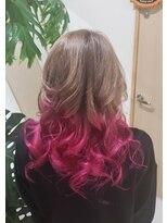 ミルキーベージュ+ピンク