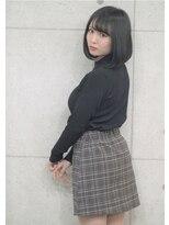 黒髪2wayワンレンボブ☆3