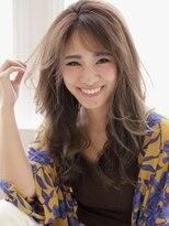 アグ ヘアー ドレス 喜久田店(Agu hair dress)レイヤーたっぷりな大人綺麗めロング