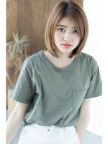 アフロートジャパン(AFLOAT JAPAN)AFLOAT明日香の縮毛矯正でうるつやミディ