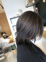 アミィヘアー(Ami Hair)ダークグレージュ×ナチュラルレイヤー