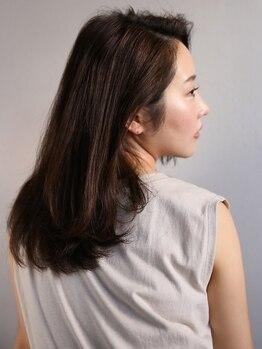 """ルブランヘアギャラリー(Le blanc hair gallery)の写真/髪のダメージが気になる方におススメ☆今話題の高級""""TOKIOトリートメント""""で、ワンランク上の艶髪に―…。"""