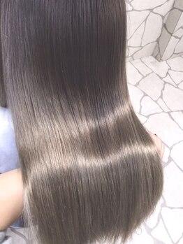 アンク クロス 新宿店(ANKHCROSS)の写真/TOKIOトリートメント¥6050★毛先まで潤いたっぷりのダメージレスな艶髪に♪本質的な「髪質ケア」を。
