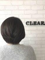 ヘアーアンドメイククリアー(Hair&Make CLEAR)グラボブスタイル