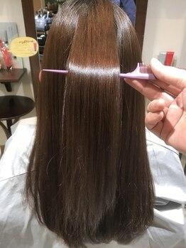 ヘアーステージ ナウ(HAIR STAGE NOW)の写真/なりたいイメージに合わせてトリートメントが選べる!髪質に合わせてご提案&好きな質感になれる♪