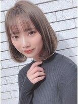 ルージュ(Rouge)【米倉和寿】ナチュラルボブ 大人かわいい0127