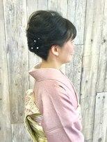 ヘアースペース ムーン(Hair Space MOON)入学入園大人のヘアーセット着付けは北区表町のムーンにどうぞ!