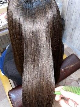 アストラル ビーチ(ASTRAL BEACH)の写真/【TVで話題】質感矯正☆ミネコラ取り扱いサロン。本気で髪をキレイにしたい方は一度お試し下さい!!